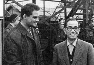 マン島で鈴木俊三社長 とDriver 1961-世界選手権レ-ス 本文