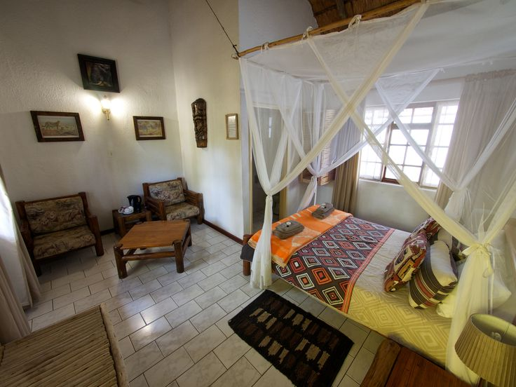 Safari Lodge Zimmer in Südafrikas Greater Kruger Nationalpark