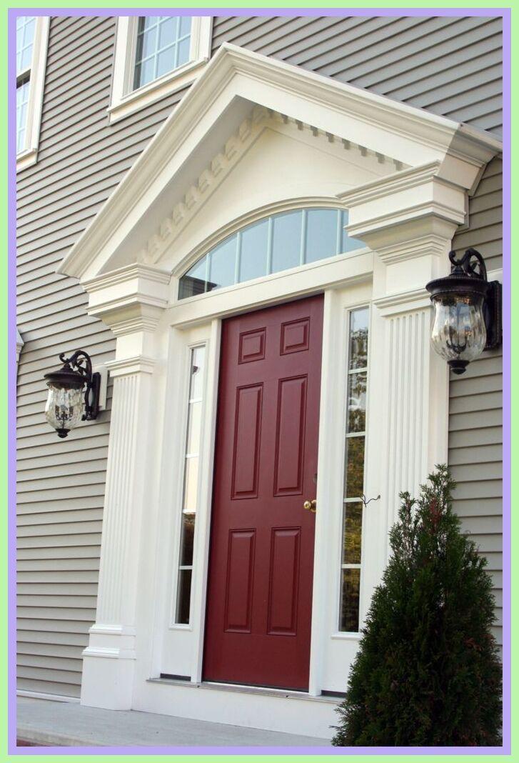 96 Reference Of Front Door Trim Ideas In 2020 Exterior Door Trim Front Door Trims Exterior Front Door Colors