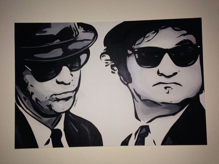 Blues Brothers 24x36 oil on canvas