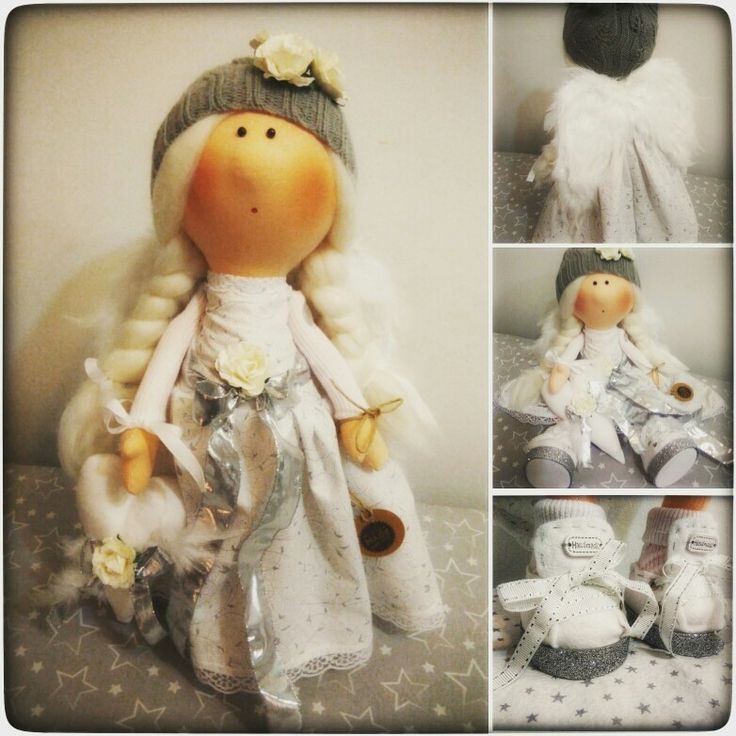 #Handmadedoll#fabricdoll#interiordoll#Angel for Martina #Anděl pro Martinku ❤❤❤