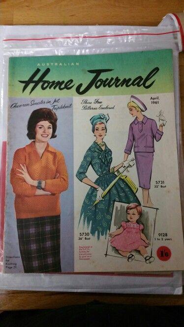 Australian home journal April 1961 cover