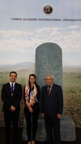 TURANCI MACAR LİDER VONA GABOR, ULUSLARARASI TÜRK AKADEMİSİNİN KAZAKİSTAN'DAKİ KURULTAYINA KATILDI.