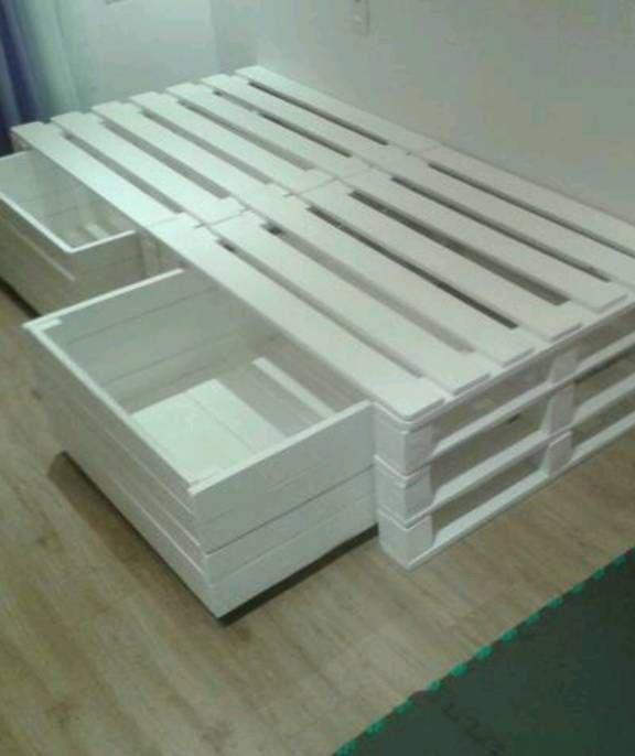 cama de pallets,cores e tamanhos de sua escolha.. Código: 16676543