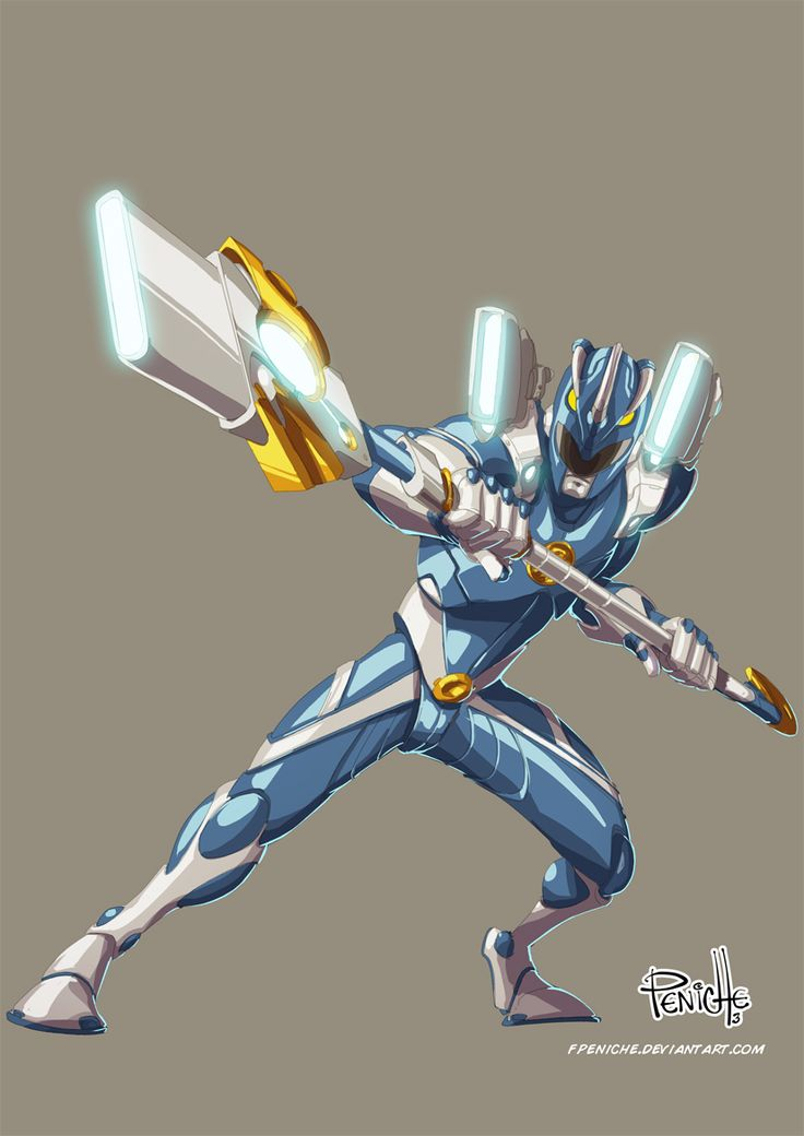 Blue Ranger by Fpeniche.deviantart.com on @deviantART