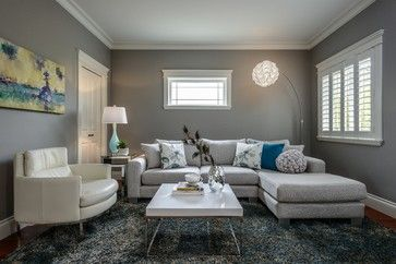 Small Leather Sectional Design Ideas, Pictures, Remodel and Decor