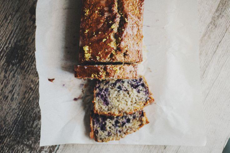 LEMON BLUEBERRY LOAF CAKE TAGS: LEMON, BLUEBERRIES, LOAF CAKE, GLUTEN FREE LOAF