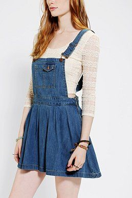 Denim Overall Dress 90 S Clothing Project Pinterest