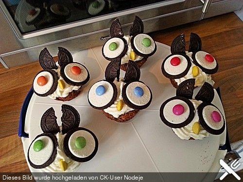 Oreo Cupcakes- Eule finde sie soo süss