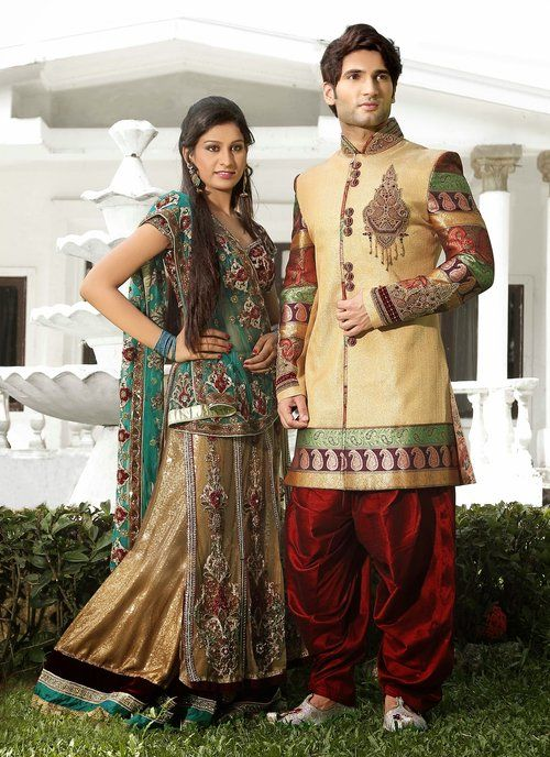 Mesmerizing Cream men's wear Readymade Sherwani #wedding #ShalwarKameez #Designer #Pakistani #Suits #GroomMens #menswear #AsianClothes #India #Reception #Fashion #Punjabi #Style #IndianGroom #GroomSuit #Pants #Jackets #Silk #Navy #Black #Dresses #Embroidery #Bollywood