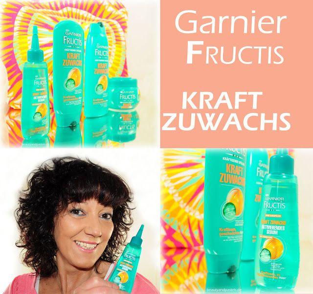 Beauty and Pastels: Das neue GARNIER Kraft Zuwachs,  Pflege für stärkeres Haar  http://www.beautyandpastels.de/2015/07/das-neue-garnier-kraft-zuwachs-pflege.html