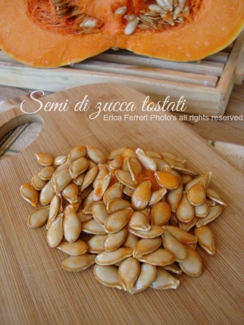 Ogni riccio un pasticcio - Blog di cucina: Come tostare i semi di zucca