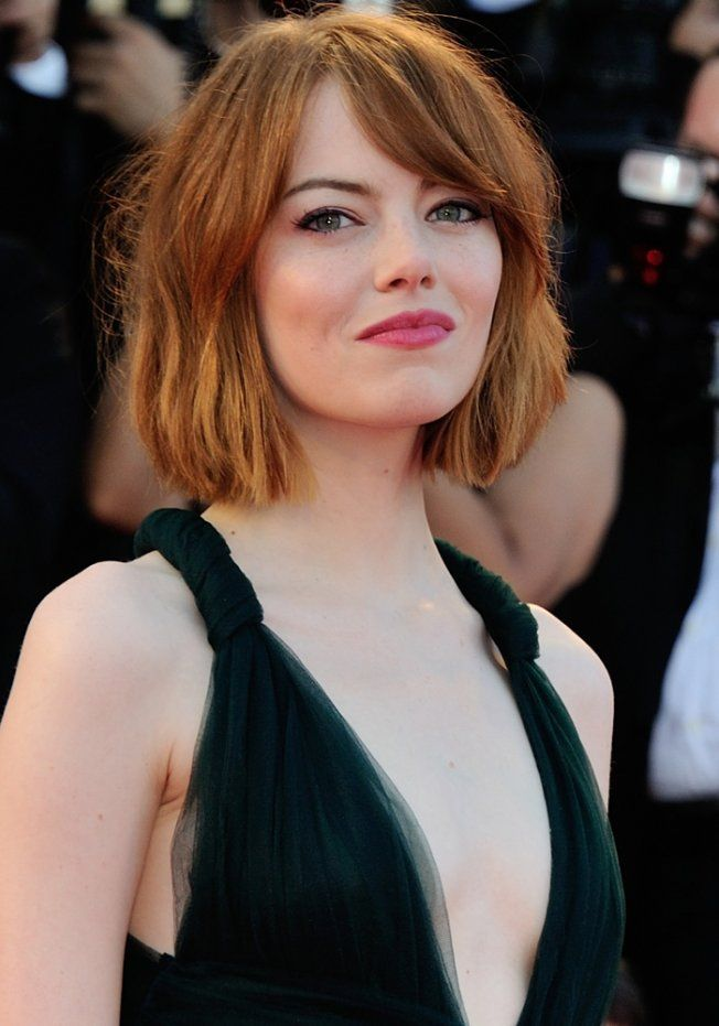 Le carré long d'Emma Stone
