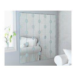 IKEA - LUNDAMO, Spegel,  , , Spegeln kan hängas vertikalt eller horisontellt för…