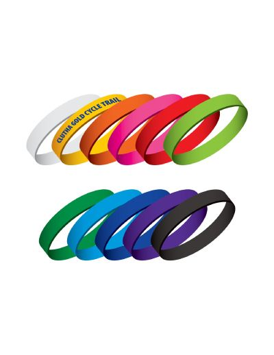 Got an event coming up? - get these silicone bands branded up!  Products that can last a long time are ideal to remind people of great memories thanks to your company/sports club!  They are ideal for fundraisers, exhibitions, events, festivals, concerts, amusement parks, conferences, schools and hundreds of other uses that are only limited by your imagination. 11 colours are available ex stock but any PMS colour is available on request.