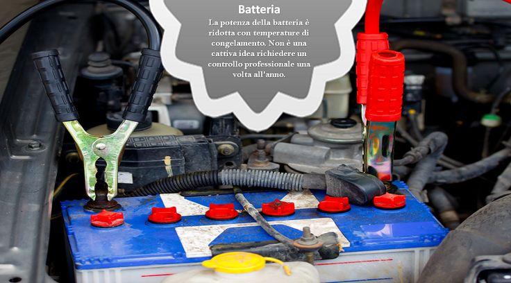 Controlla la Batteria La maggior parte dei negozi di ricambi per auto farà questo controllo gratuitamente. E' semplice, veloce, e ti darà una indicazione se sarai in grado di passare attraverso l'inverno senza trovarti con una batteria esaurita. #PneumaticiAllWeather