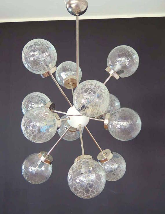 Simple Italienischen Raum Alter Jahrgang Sputnik Kronleuchter