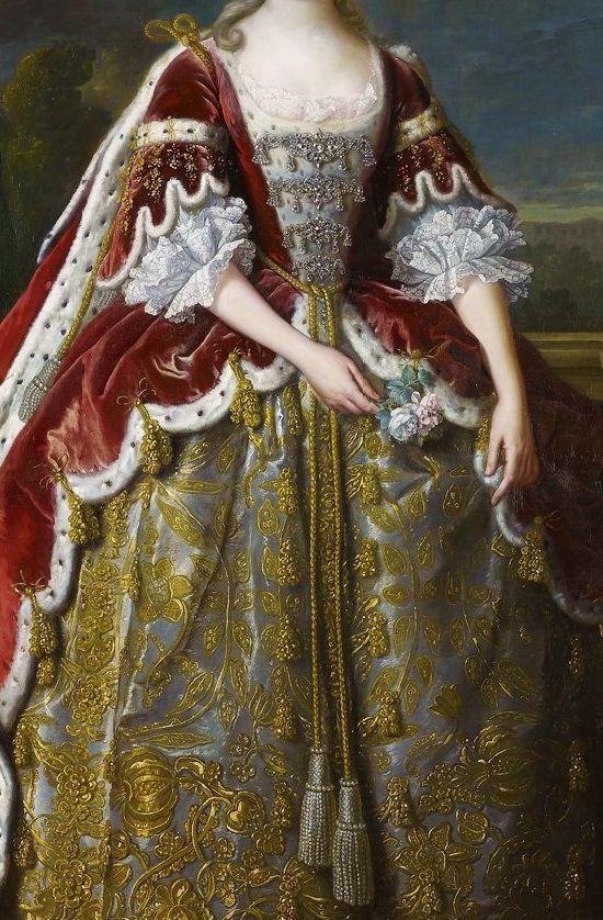 Portrait of Augusta of Saxe-Gotha, Princess of Wales (1742) Jean-Baptiste van Loo
