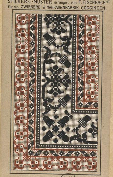 Gallery.ru / Фото #82 - старинные ковры и схемы для вышивки - SvetlanN