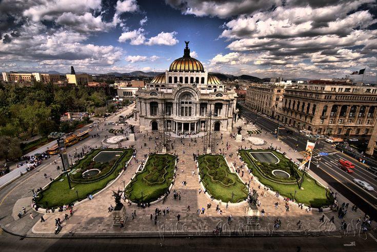 Bellas Artes, in Mexico City's downtown