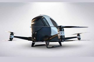Αuto  Planet Stars: Το πρώτο ιπτάμενο μονοθέσιο ταξί χωρίς οδηγό τον Ι...