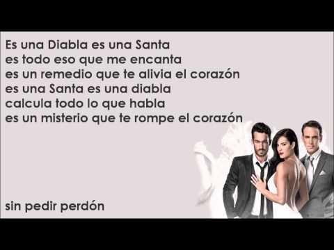 Santa Diabla - Aaron Díaz & Carlos Ponce [Canción Completa Con Letra] - YouTube