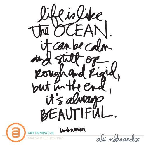 Ali Edwards | Blog: Give Sunday | 28