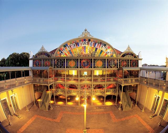 José de Alencar Theater is one of the most impressive buildings in all of Ceará, Fortaleza, #Brazil