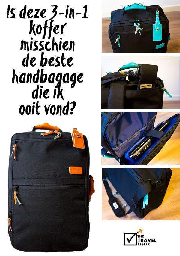 Is deze reisrugzak misschien de beste handbagage die ik vond? | The Travel Tester