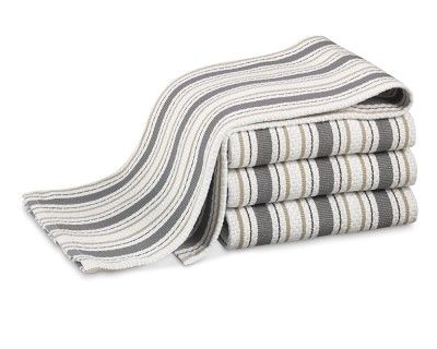 Always Need New Kitchen Towels   Williams Sonoma Seasonal Contrast Striped  Towels, Set Of 4
