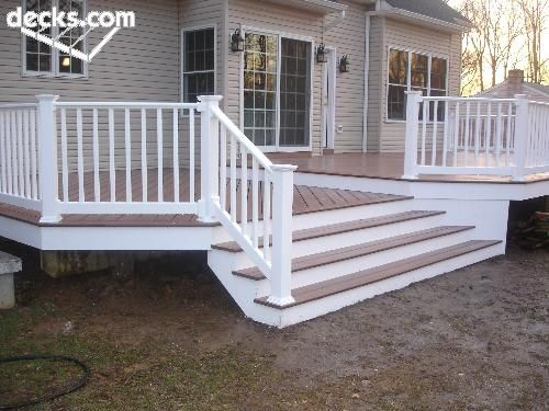 find this pin and more on house ideas - Backyard Deck Designs