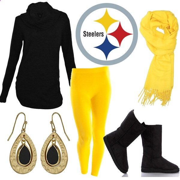 Pittsburgh Steelers Themed Outfit Thanksgiving Pinterest Themed Outfits Football Team And
