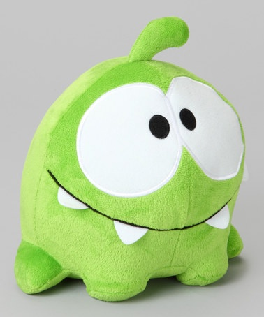 Take a look at this Cut the Rope Happy Plush Toy by Perfect Presents: Apparel, Toys & Shoes on #zulily today!
