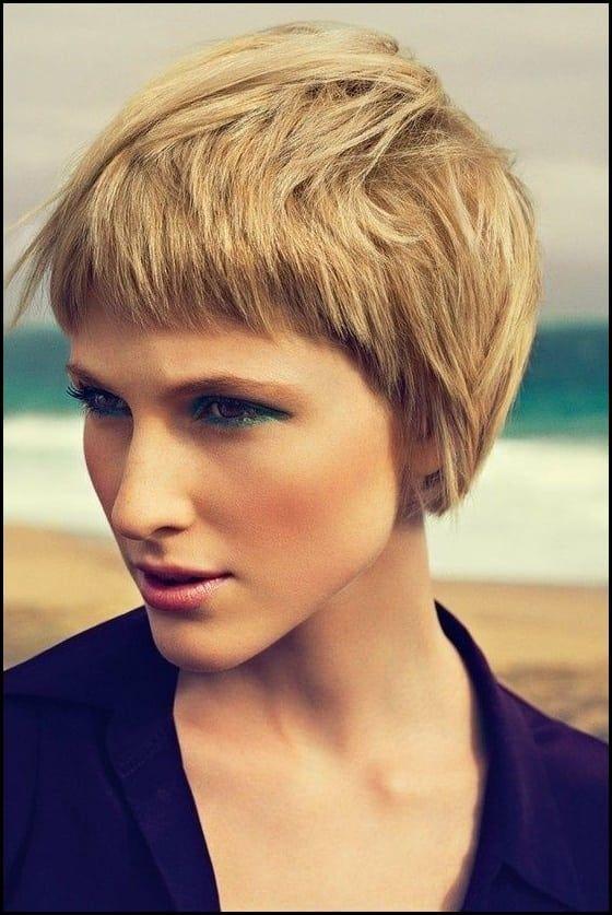 20 Stilvolle Kurze Frisuren Für Frauen Mit Dicken Haaren | Neue Frisuren |  Pinterest