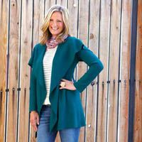 Sew An Easy & Chic Jacket -  Find the free e-pattern at sewnews.com!
