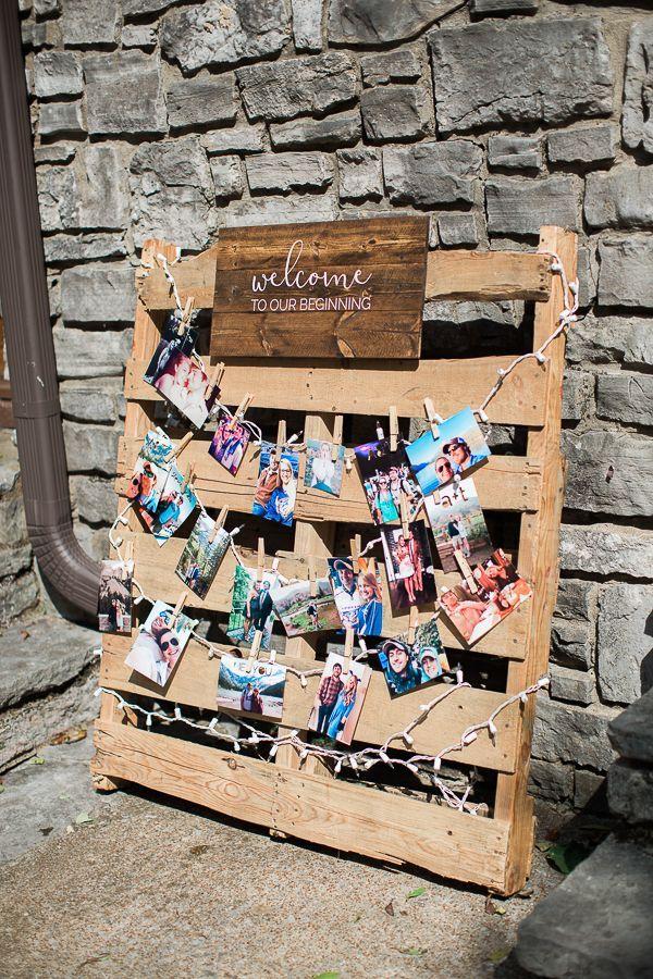 DIY Rustic Wedding Ceremony Details with Cricut | Pallet ...
