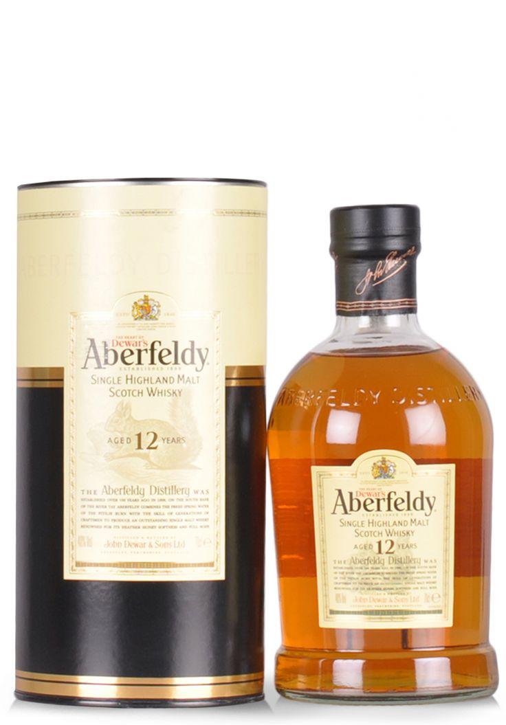 Whisky Aberfeldy 12 ani, Single Malt Scotch (0.7L) - SmartDrinks.ro