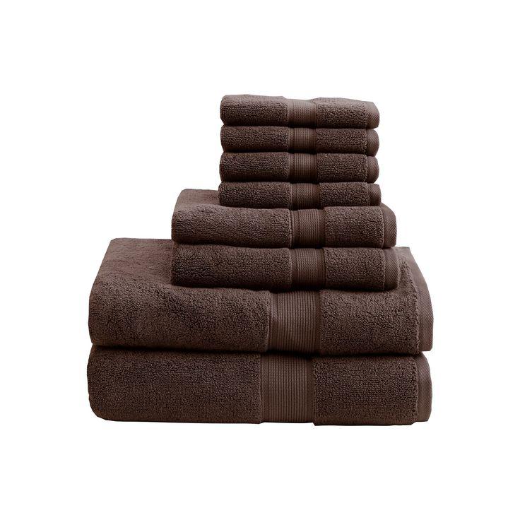 Bath Towel Set - Brown, Bath Towels Sets