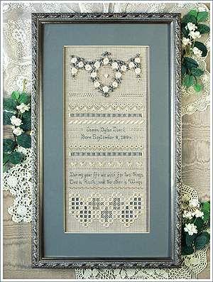 Heirloom Birth Sampler by Victoria Sampler - Cross Stitch Kits & Patterns