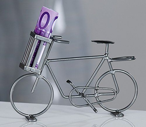 """Modell-Fahrrad aus Metall """"Geldbote"""" für Geldgeschenke Ca... http://www.amazon.de/dp/B007BQ6RXU/ref=cm_sw_r_pi_dp_hh1ixb1YE1PF1"""
