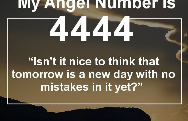 Angel Number 4444 and its Meaning