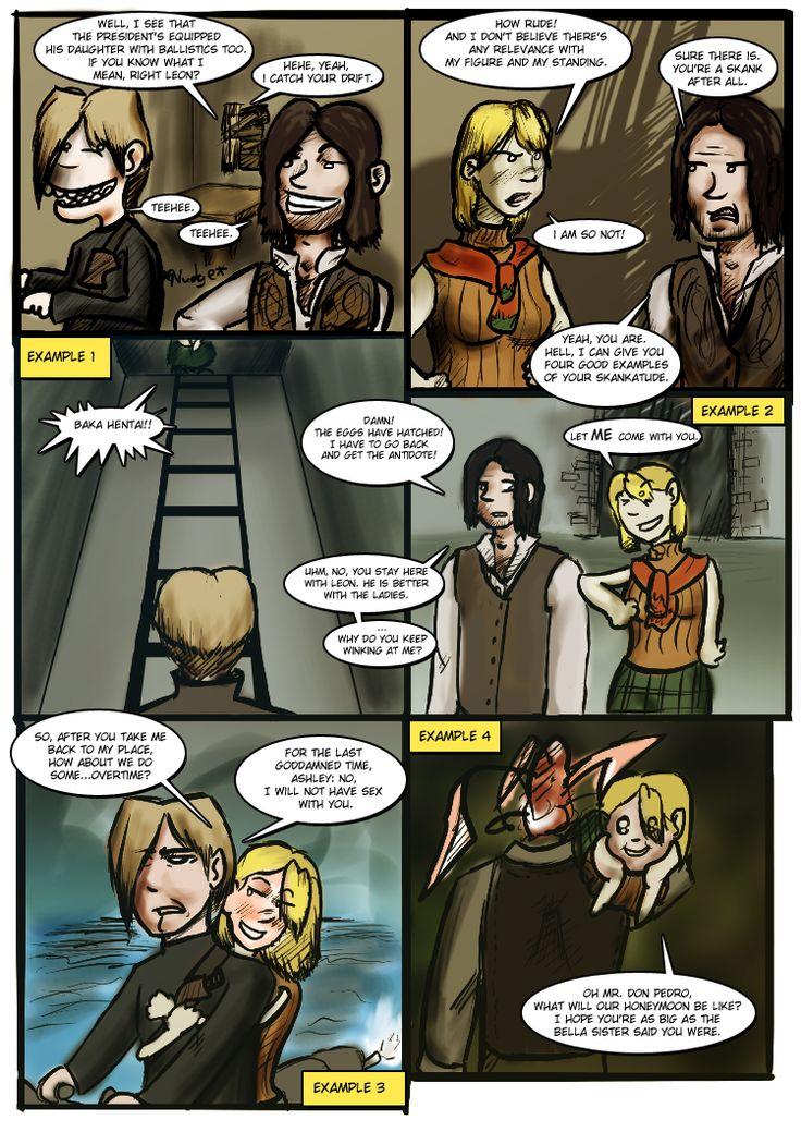 Ashley Graham, Resident Evil 4 artwork by Teronist 09.