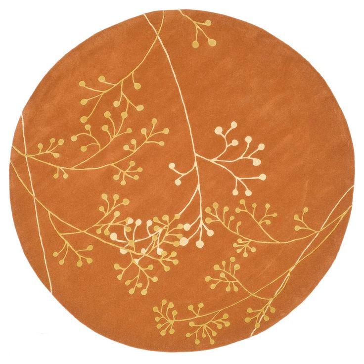 Walsall Area Rug - Rust (Red) (8' X 8' Round) - Safavieh