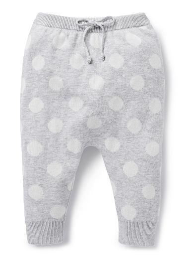 Baby Girls Pants & Shorts | Spot Knit Pant | Seed Heritage