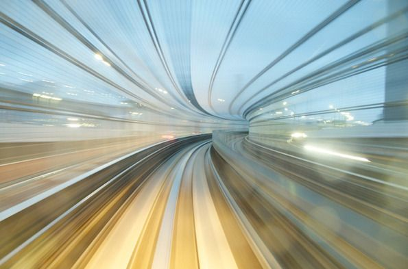 Amazing Photographs From A Moving Train | The Creators Project