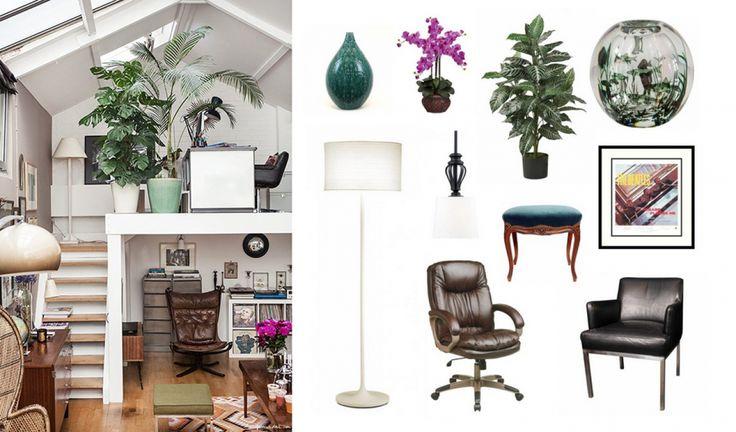 One room, three looks || Zen office space #1