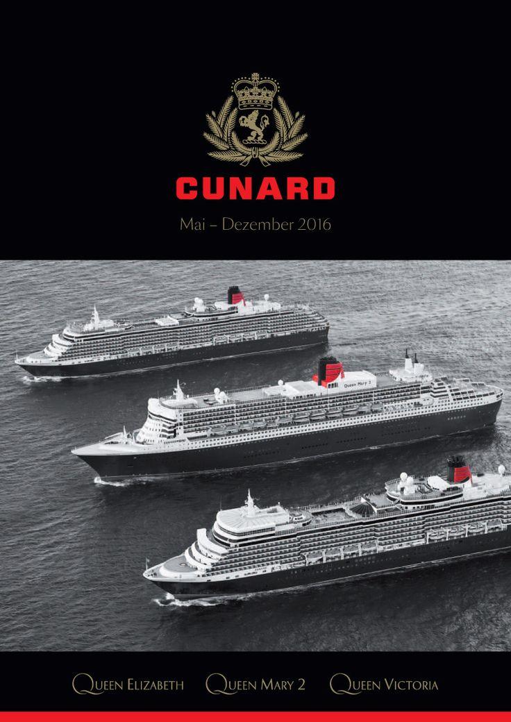 Ihre Freunde werden staunen - Luxus Kreuzfahrt mit den Luxuslinern der Cunard Line. Ob Kreuzfahrt, Schnupperkreuzfahrt oder Transatlantikpassage.