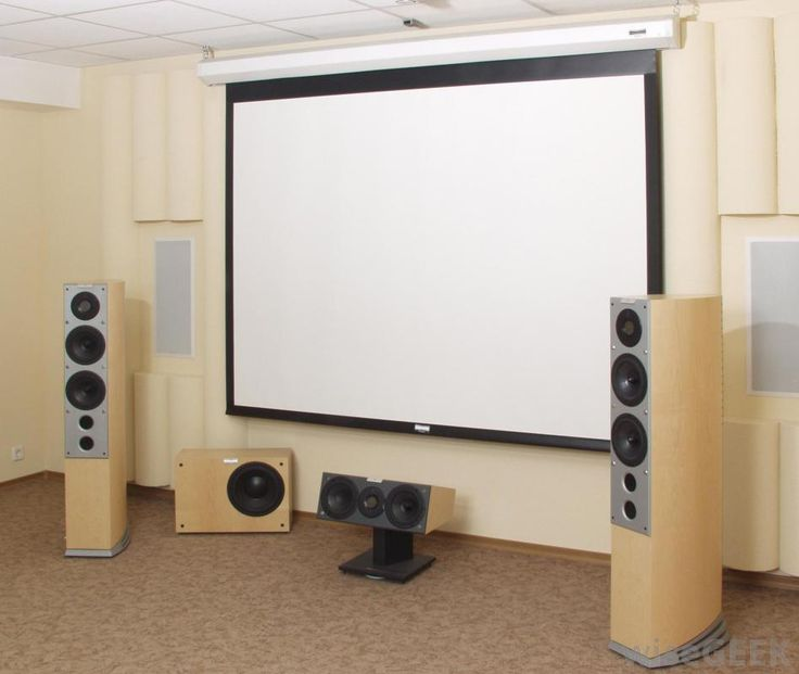 What Are Different Types Of Home Theater Screens?