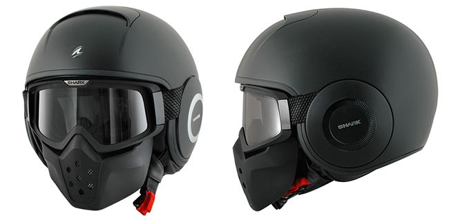 Casco de Moto modular Shark Raw                                                                                                                                                      Más