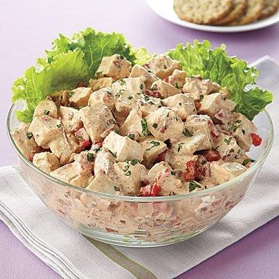 Chipotle Chicken Salad #recipe
